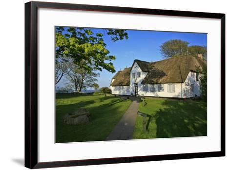 Sylter Heimatmuseum' (Local Museum) at Keitum (Village) on the Island of Sylt-Uwe Steffens-Framed Art Print