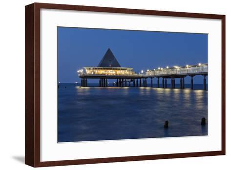 Germany, Western Pomerania, Island Usedom, Heringsdorf, Pier-Chris Seba-Framed Art Print