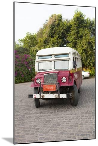 Oldtimer at Bagan Picking Up Tourists for Balloon Flight over Ancient Temples of Bagan-Harry Marx-Mounted Photographic Print