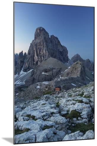 Zwšlferkofel, 'BŸllele Joch HŸtte' Hut, South Tyrol, the Dolomites Mountains, Italy-Rainer Mirau-Mounted Photographic Print