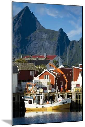 Scandinavia, Norway, Lofoten, Moskenesoey, Hamnoy-Rainer Mirau-Mounted Photographic Print