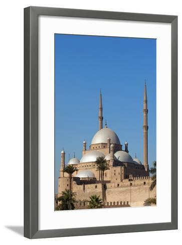 Egypt, Cairo, Citadel, Mosque of Muhammad Ali-Catharina Lux-Framed Art Print