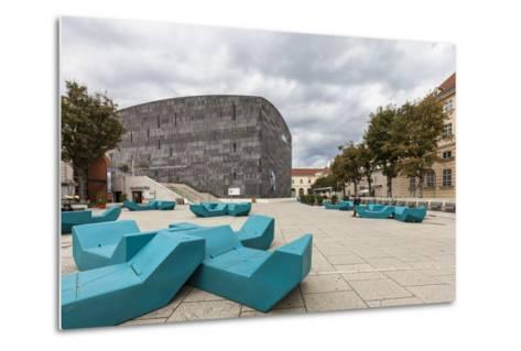 Museum of Modern Art Ludwig Wien (Mumok), in Museumsquartier, Vienna, Austria, Europe-Gerhard Wild-Metal Print