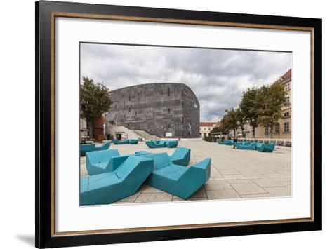 Museum of Modern Art Ludwig Wien (Mumok), in Museumsquartier, Vienna, Austria, Europe-Gerhard Wild-Framed Art Print