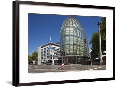 Germany, North Rhine-Westphalia, Cologne, Weltstadthaus-Chris Seba-Framed Art Print