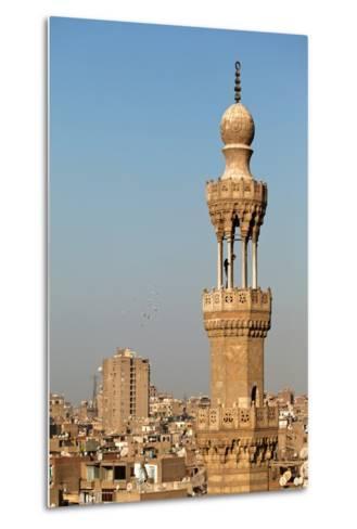 Egypt, Cairo, Minaret-Catharina Lux-Metal Print