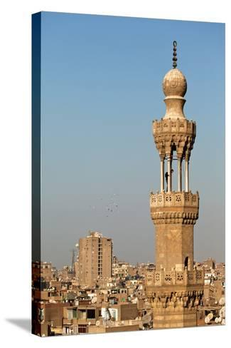 Egypt, Cairo, Minaret-Catharina Lux-Stretched Canvas Print