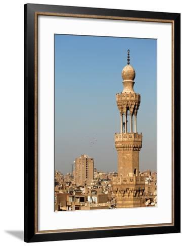 Egypt, Cairo, Minaret-Catharina Lux-Framed Art Print