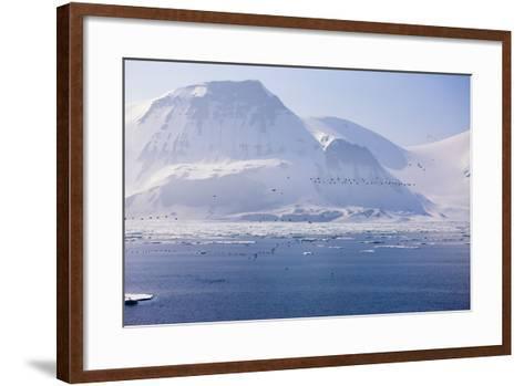 Norway, Storfjord, Winter Landscape-Frank Lukasseck-Framed Art Print