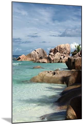 The Seychelles, La Digue, Beach, Anse Coco-Catharina Lux-Mounted Photographic Print