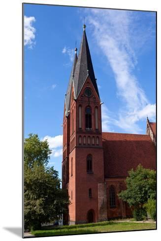 Germany, Brandenburg, Oder-Neisse Cycle Route, Frankfurt / Oder, Gertraudenkirche-Catharina Lux-Mounted Photographic Print