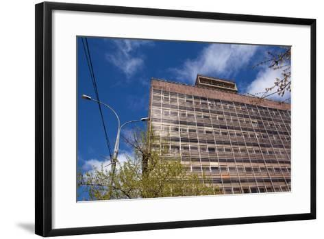 Moscow, Corbusier, Zentrosojus-Trade Union House, Architectural Monument-Catharina Lux-Framed Art Print