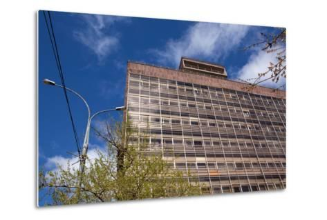 Moscow, Corbusier, Zentrosojus-Trade Union House, Architectural Monument-Catharina Lux-Metal Print
