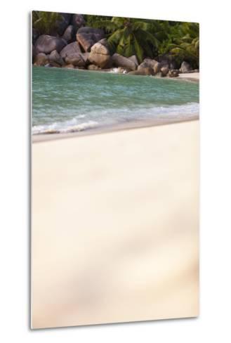Dream Beach, Indian Ocean, Seychelles, Sand, Water, Granite Rocks-Harry Marx-Metal Print
