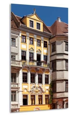 Germany, Saxony, Gšrlitz, Untermarkt, Baroque Facade-Catharina Lux-Metal Print