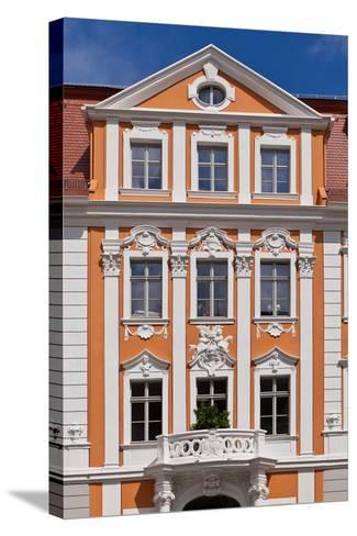 Germany, Saxony, Gšrlitz, Obermarkt, Napoleon House-Catharina Lux-Stretched Canvas Print