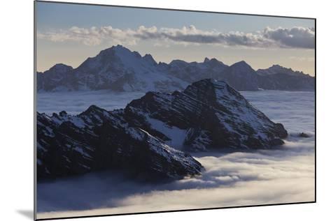 Italy, Lombardy, Stilfser Joch (Col) National Park, View of Monte Scorluzzo, Cresta Di Riding-Rainer Mirau-Mounted Photographic Print