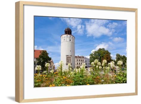 Germany, Saxony, Gšrlitz, Marienplatz, Thick Tower-Catharina Lux-Framed Art Print