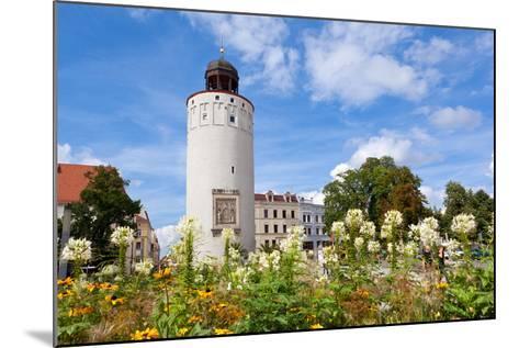 Germany, Saxony, Gšrlitz, Marienplatz, Thick Tower-Catharina Lux-Mounted Photographic Print
