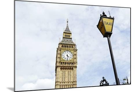 Big Ben, Clock Tower of the Palace of Westminster, British Parliament-Axel Schmies-Mounted Photographic Print