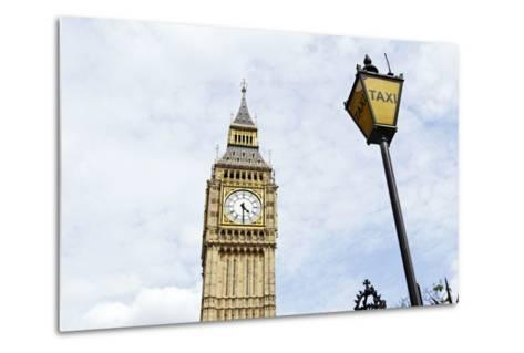 Big Ben, Clock Tower of the Palace of Westminster, British Parliament-Axel Schmies-Metal Print