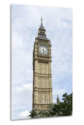 Big Ben, Clock Tower of the Palace of Westminster, British Parliament-Axel Schmies-Metal Print