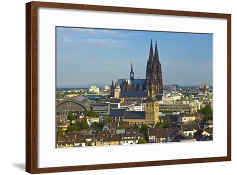 Germany, North Rhine-Westphalia, Cathedral-Chris Seba-Framed Art Print