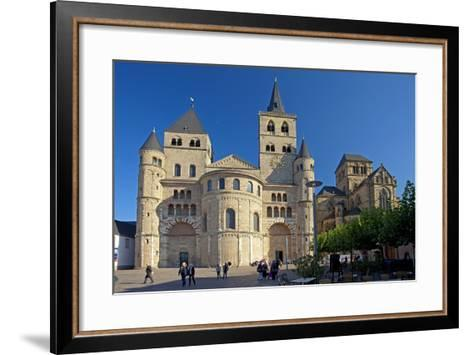 Germany, Rhineland-Palatinate, the Moselle, Trier, Cathedral-Chris Seba-Framed Art Print