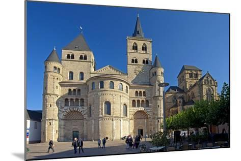 Germany, Rhineland-Palatinate, the Moselle, Trier, Cathedral-Chris Seba-Mounted Photographic Print