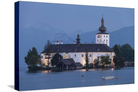 Schloss Orth, Traunsee, Gmunden, Salzkammergut, Upper Austria, Austria-Gerhard Wild-Stretched Canvas Print