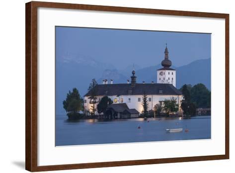Schloss Orth, Traunsee, Gmunden, Salzkammergut, Upper Austria, Austria-Gerhard Wild-Framed Art Print