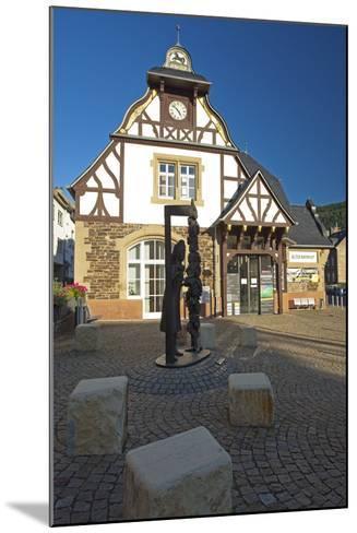 Germany, Rhineland-Palatinate, Traben-Trarbach, City Hall Traben-Chris Seba-Mounted Photographic Print