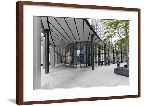 Modern Architecture, Office Buildings, Fenchurch Street, London, England, Uk-Axel Schmies-Framed Art Print