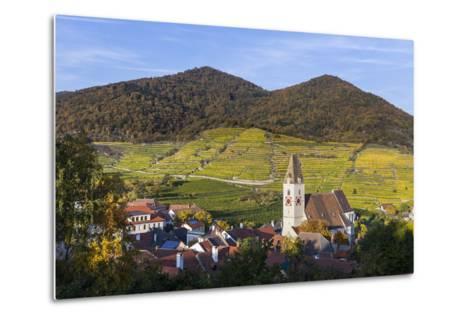 Parish Church Holy Mauritius in Spitz on the Danube, Wachau, Lower Austria, Austria, Europe-Gerhard Wild-Metal Print