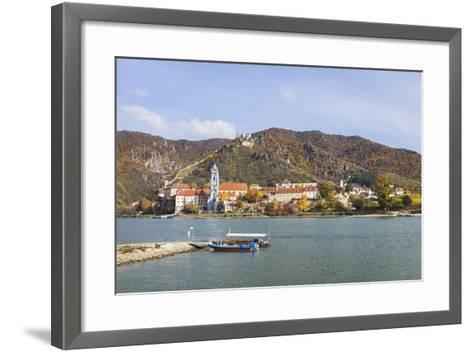 DŸrnstein on the Danube, Wachau, Lower Austria, Austria, Europe-Gerhard Wild-Framed Art Print