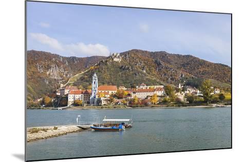 DŸrnstein on the Danube, Wachau, Lower Austria, Austria, Europe-Gerhard Wild-Mounted Photographic Print