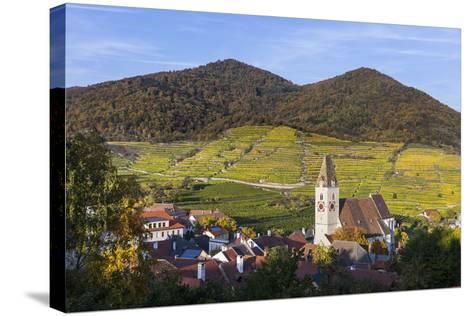 Parish Church Holy Mauritius in Spitz on the Danube, Wachau, Lower Austria, Austria, Europe-Gerhard Wild-Stretched Canvas Print