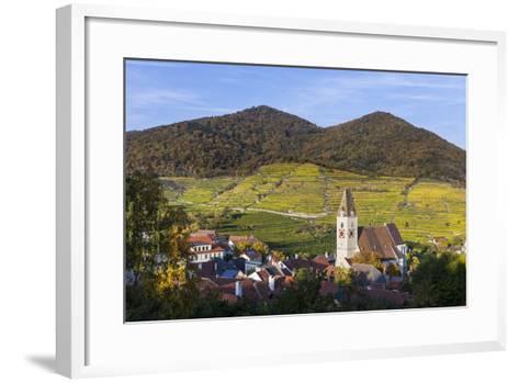 Parish Church Holy Mauritius in Spitz on the Danube, Wachau, Lower Austria, Austria, Europe-Gerhard Wild-Framed Art Print
