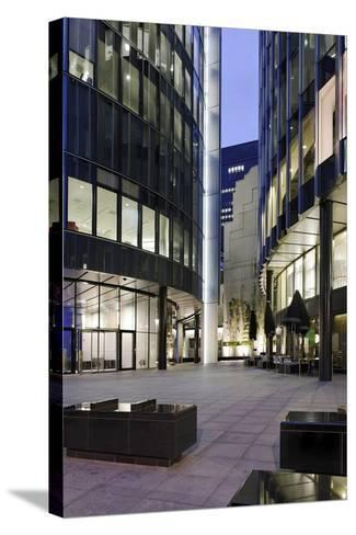 Modern Architecture, Office Buildings, Dusk, Fenchurch Street, London, England, Uk-Axel Schmies-Stretched Canvas Print