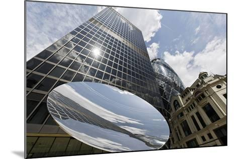 Aviva Tower, Modern Architecture, Saint Mary Axe, London, England, Uk-Axel Schmies-Mounted Photographic Print