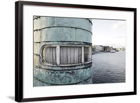 Old Sluice Tower, Knippelsbro, Christianshavn, Copenhagen, Denmark, Scandinavia-Axel Schmies-Framed Art Print