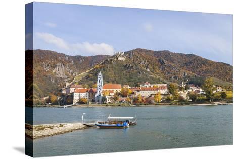 DŸrnstein on the Danube, Wachau, Lower Austria, Austria, Europe-Gerhard Wild-Stretched Canvas Print