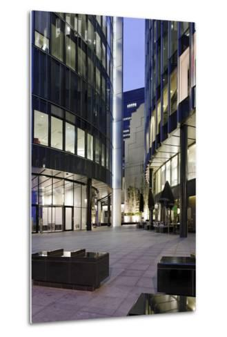 Modern Architecture, Office Buildings, Dusk, Fenchurch Street, London, England, Uk-Axel Schmies-Metal Print