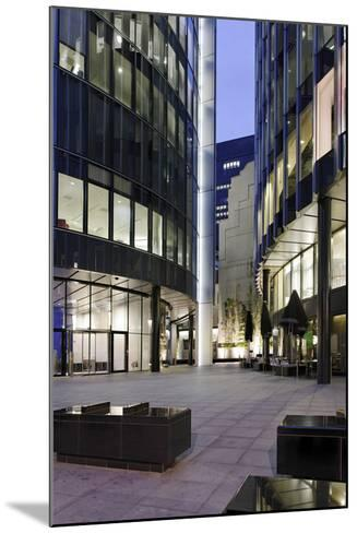 Modern Architecture, Office Buildings, Dusk, Fenchurch Street, London, England, Uk-Axel Schmies-Mounted Photographic Print