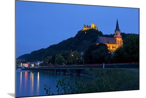 Germany, Rhineland-Palatinate, Middle Rhine Valley, Oberwesel, Middle Rhine-Chris Seba-Mounted Photographic Print