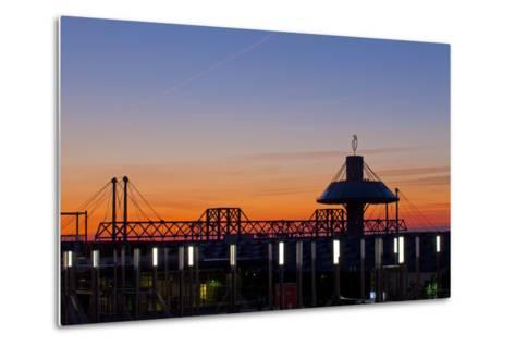Germany, Lower Saxony, Hannover, Exhibition Site, Convention Centre-Chris Seba-Metal Print