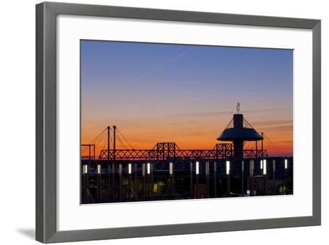 Germany, Lower Saxony, Hannover, Exhibition Site, Convention Centre-Chris Seba-Framed Art Print