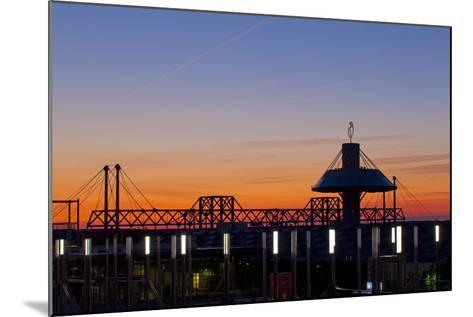 Germany, Lower Saxony, Hannover, Exhibition Site, Convention Centre-Chris Seba-Mounted Photographic Print