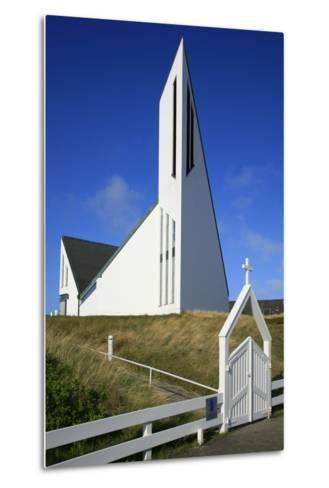 St. Thomas Church in Hornum on the Island of Sylt, the Last Listed Facade of Schleswig-Holstein-Uwe Steffens-Metal Print