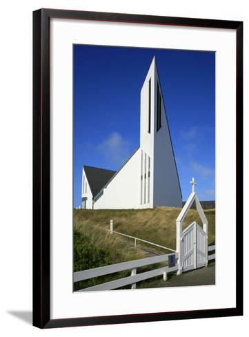St. Thomas Church in Hornum on the Island of Sylt, the Last Listed Facade of Schleswig-Holstein-Uwe Steffens-Framed Art Print